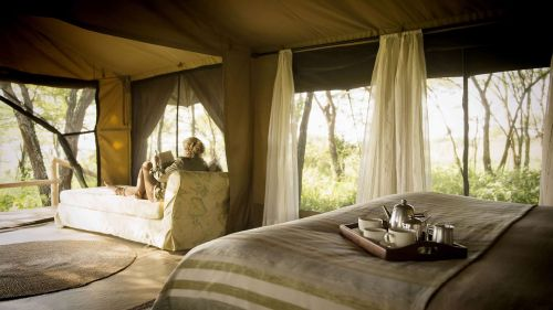 Double bedroom with coffee