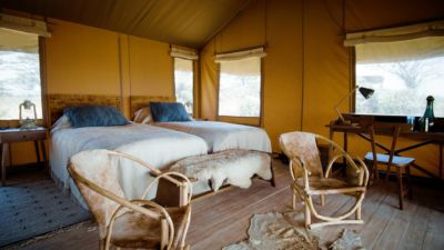 Twin tent setup