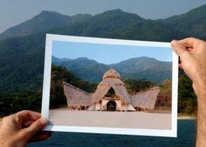 Photo of photo on location