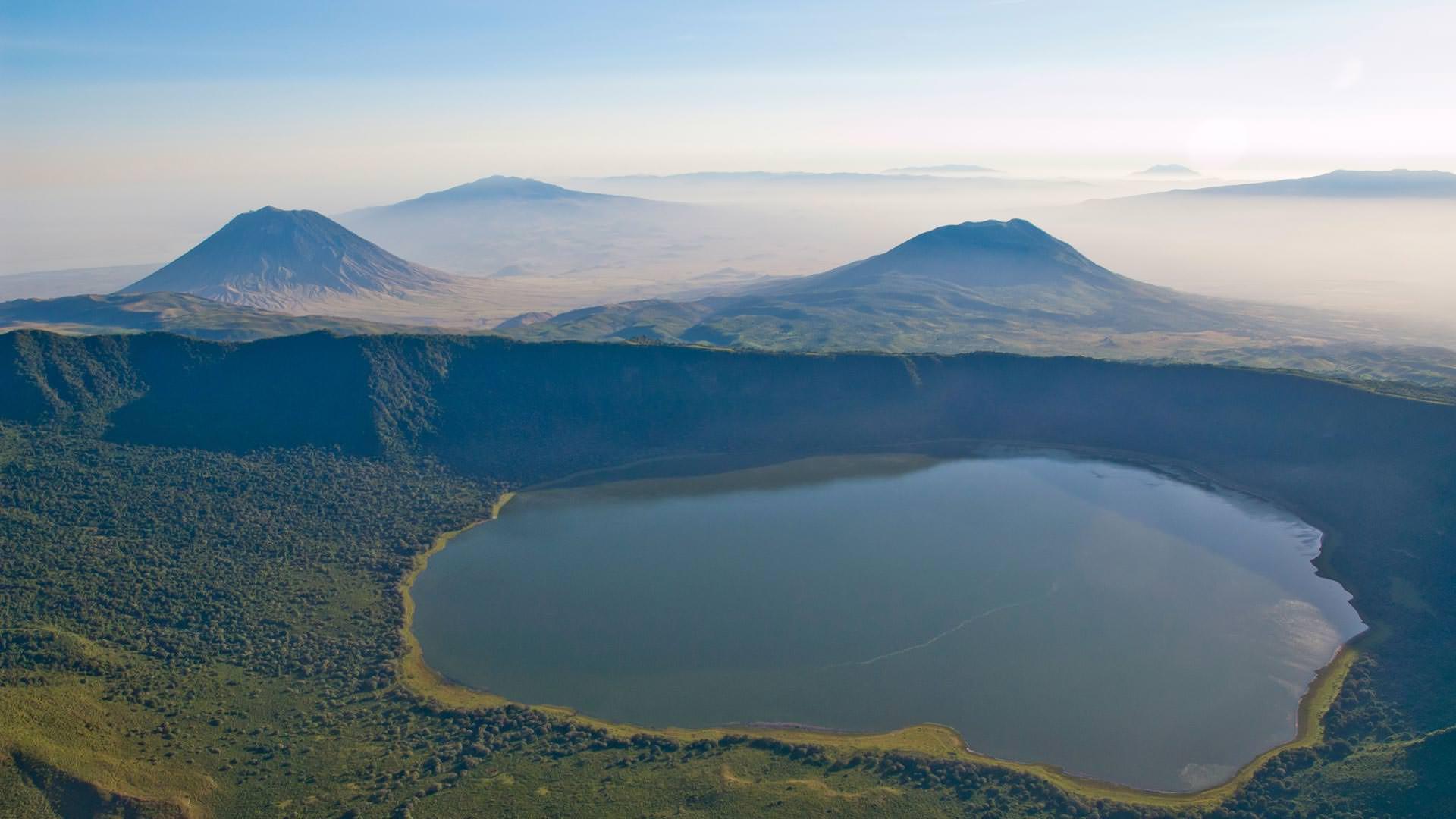 Empakai crater lake