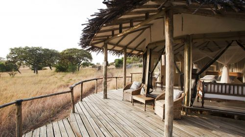 The deck at Lamai