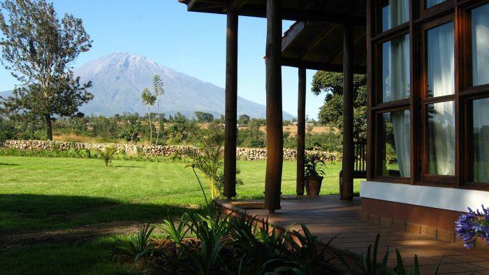 Views to Mount Meru