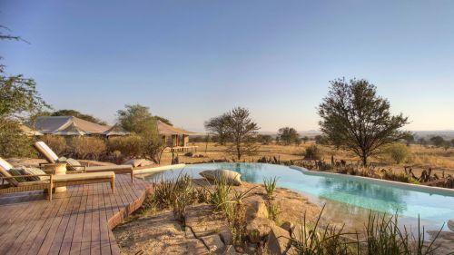 Sayari Camp pool