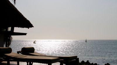 Ocean view from Matemwe