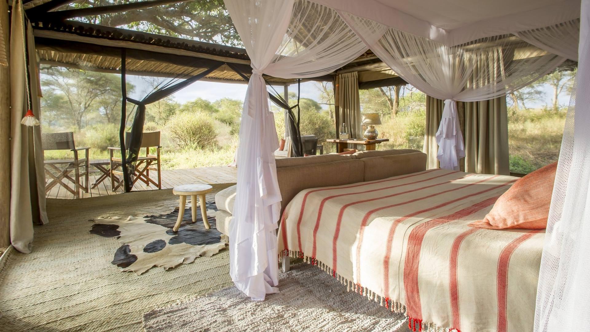 Guest room at Kuro camp