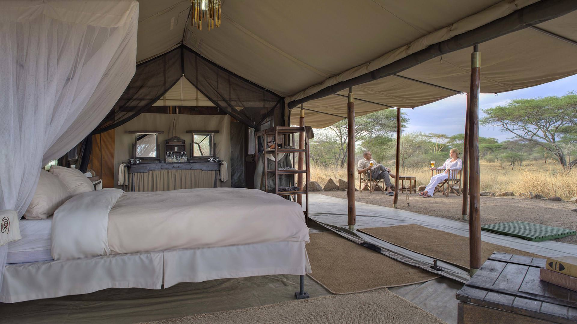 Guest Tent at Mbono Tented Camp