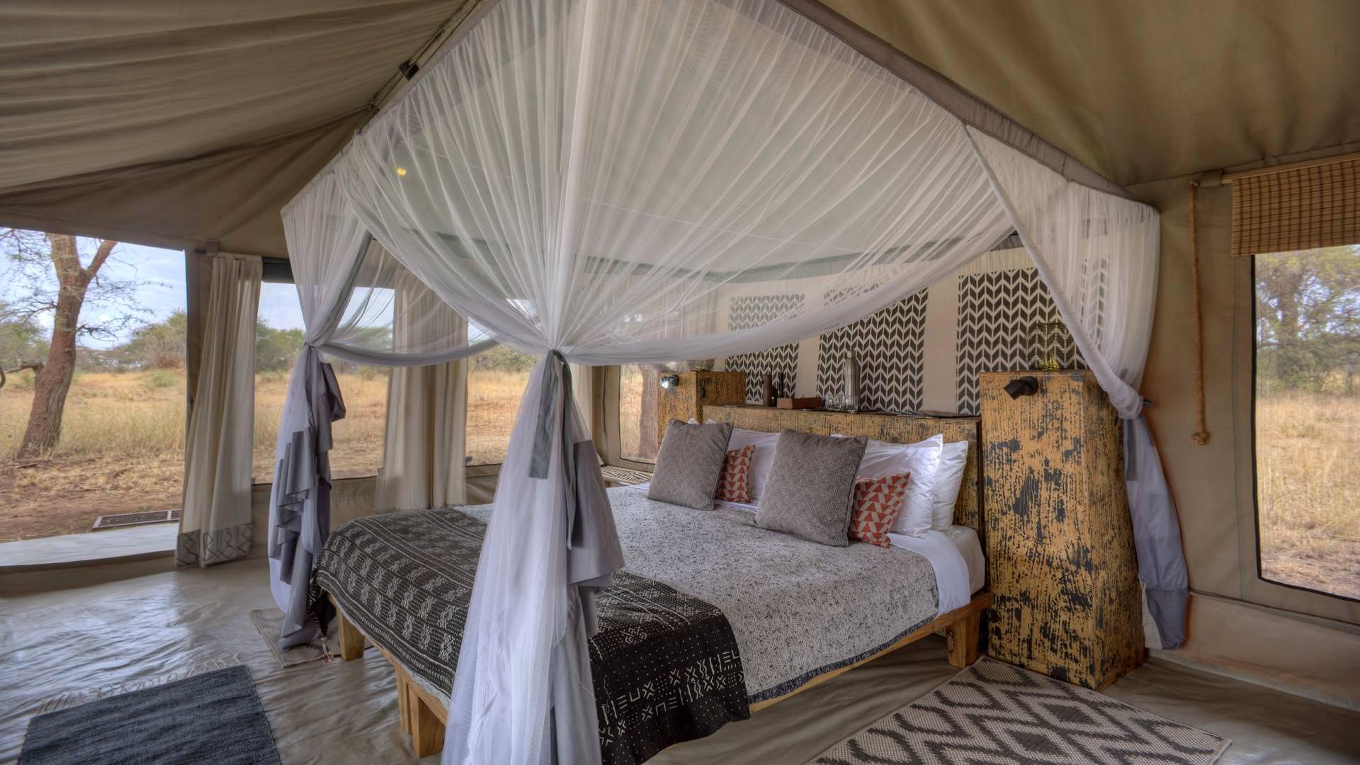 Ubuntu Camp Guest bed