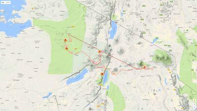 11 day Tanzania walking and active safari - high end option
