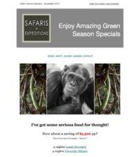 Special Green Season Mailer