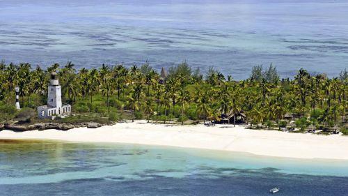 Fanjove Private Island - aerial view