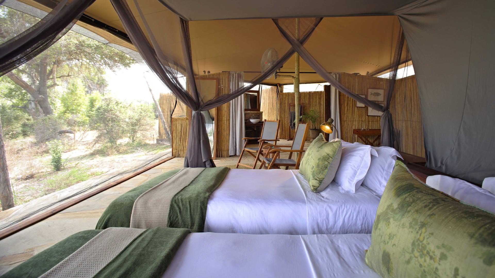 Roho ya Selous-Twin tent