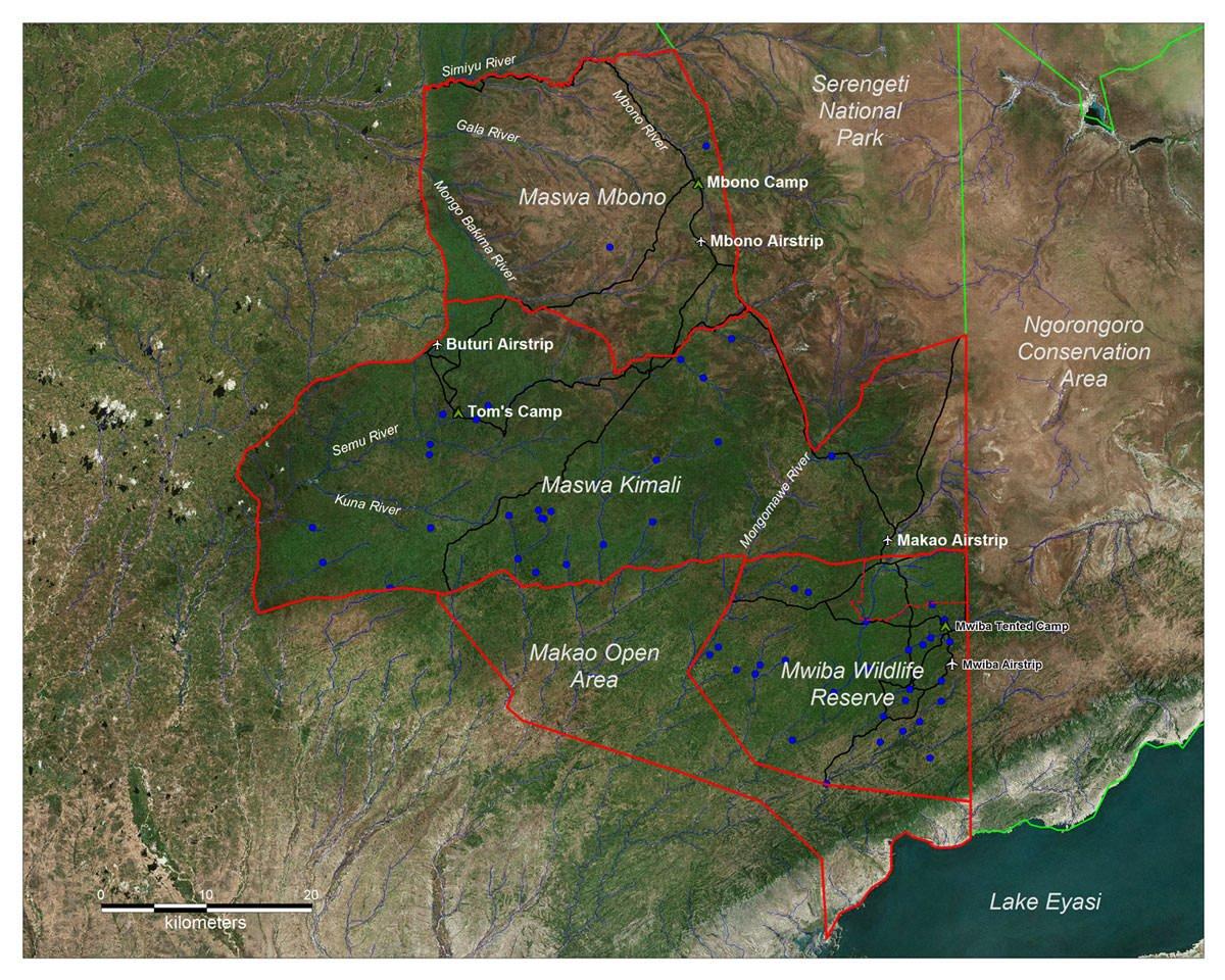 Maswa Map full size