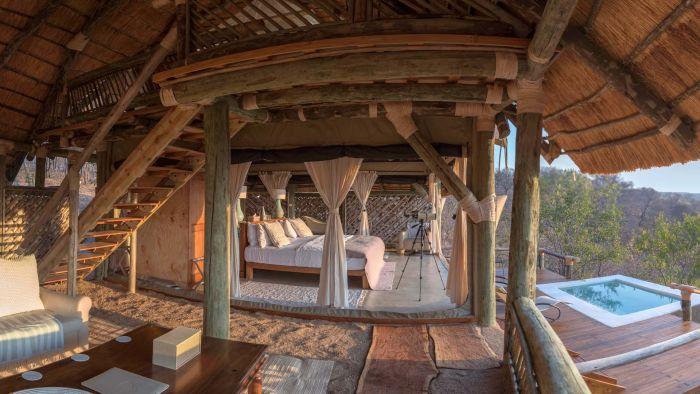 Ikuka Camp Bedroom